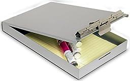Saunders Aluminum Redi-Rite Storage Clipboard - Memo Size - 00213