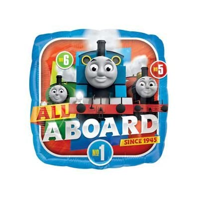 Mayflower Products The Ultimate Thomas The Train Engine 2nd Birthday Party Supplies and Balloon Decorations: Toys & Games