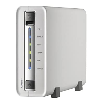 QNAP TS-110 1-Bay Portable Network Attached Storage