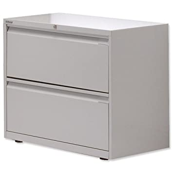 Etonnant Bisley 2 Drawer Side Filer Lateral Filing Cabinet Grey