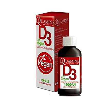 liquamine vitamina D3 Vegan 1000Ui 20 ml Dr Theiss