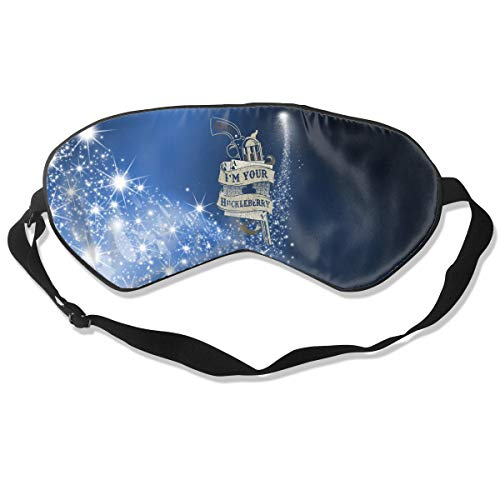 NCNET 100% Silk Sleep Mask for Women Men,Night Blindfold,Light Blocking,Eye Shade,Sleeping Aid,Adjustable Strap for Travel Nap Shift Work,Huckleberry]()