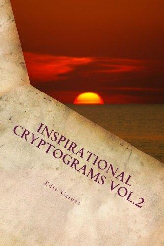 Download Inspirational Cryptograms Vol. 2 (large print) (Volume 2) PDF