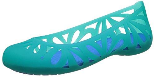 crocs Adrina3FlatW Damen Ballerinas Grün (Tropical Teal/Ocean)