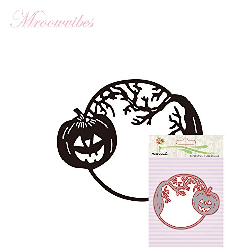 Homemade Christmas Costumes Children (Maple_Leaf Happy Halloween Metal Cutting Dies - Stencils Scrapbooking Embossing DIY Crafts (B))