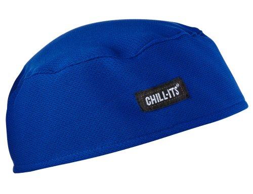 Ergodyne Chill-Its 6630 Absorptive Moisture-Wicking Skull Cap, Blue from Ergodyne
