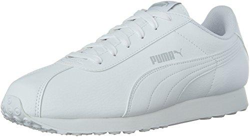 Sneaker da uomo Torino Fashion, bianco / bianco, 11,5 M US