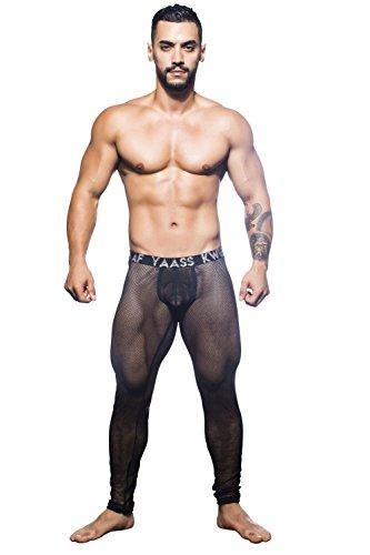 Andrew Christian Men's Slay Legging, Black, X-Large