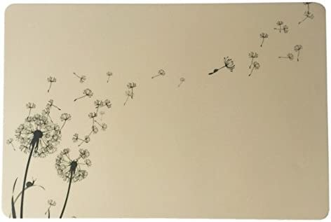 Schreibtischunterlage Motiv: Pusteblume 40 x 60 cm abwischbar
