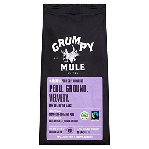 Grumpy Mule Organic Peru Ground Coffee - 227g (0.5lbs)