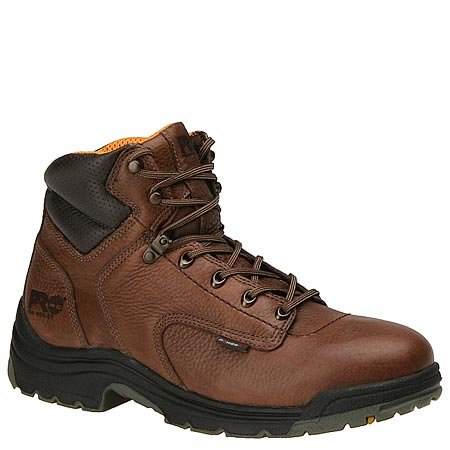 Men's Timberland Pro, Titan 6 inch safety toe coffee 12 M
