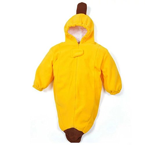 Sealive Popular Special Banana Shape,Cute Baby Sleeping Bag Sack Romper Fleece Banana Swaddle Blanket Newborn Photography,For 0-3 Years
