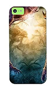 New Malfurion Stormrage - Wow Tpu Case Cover, Anti-scratch Eatcooment Phone Case For Iphone 5c