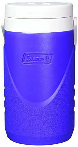 0.5 Gallon Beverage - Coleman Not Available 2 Qt. Half Gallon Jug Cooler Color Blue