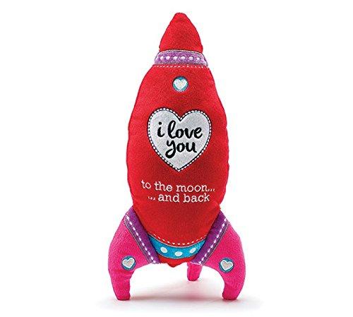 Valentine's Day Rocket I Love You Plush ()