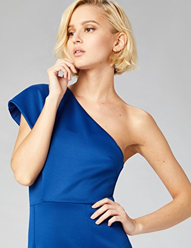 Hombro amp; Al Azul Aire Un Fable Mujer Vestido Midi blue Con Truth 76fZYqqw