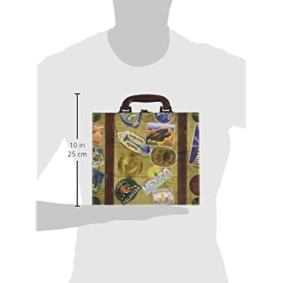 MasterPieces Collector Suitcase Jigsaw Puzzle, Grand Canyon National Park, Features Historical Landmarks, 1000 Pieces: Toys & Games
