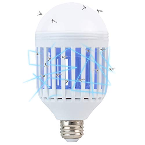 Bug Zapper Light Bulb 2 in 1 Mosquito Killer Lamp