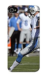 Graceyou Case Cover Protector Specially Made For Iphone 5/5s Detroit Lions Nfl Football