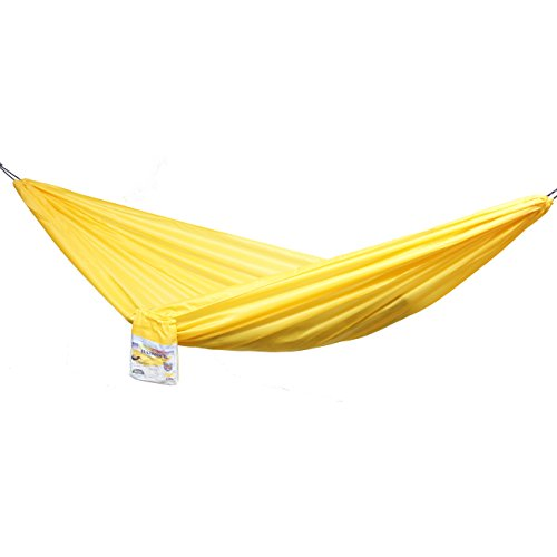 Traveller Lite Hammock with Micro Rope System, Full-Sized, Single Person, Lightweight, Easy to Transport,Parachute Fabric,Easy Assembly, 108