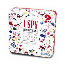 I Spy Memory Game in Collectible Tin