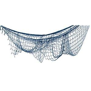 41%2BNuYiYfYL._SS300_ Nautical Fish Net Decor
