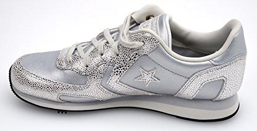 CONVERSE 556819C Silber Granit Turnschuhe Schuhe Schnürsenkel laufen Silber