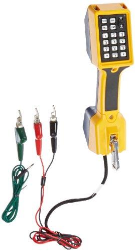 Cord Set Telephone - Fluke Networks 22800007 TS22 Telephone Test Set with Ground Start Cord