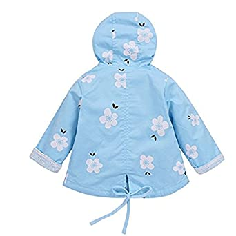 Baby M/ädchen Jacke /Übergangsjacke Gedruckt Kapuzenjacke Kinder Prinzessin Fr/ühling Herbst Outwear