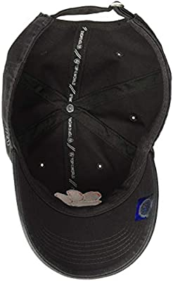Top of the World NCAA Mens NCAA Men's Adjustable Hat Relaxed Fit Charcoal Icon