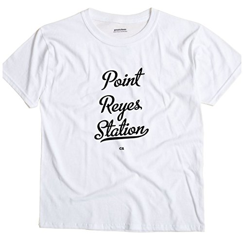 Point Reyes Station California CA METRO GreatCitees Unisex Souvenir T (Metro Station Shirts)