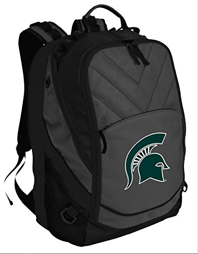 (Broad Bay Best Michigan State University Backpack Laptop Computer Bag)