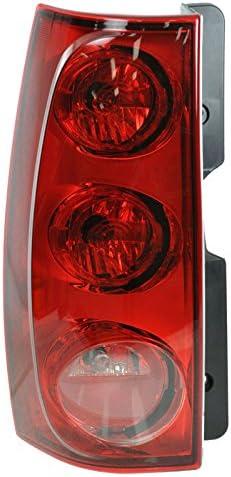 Taillight Taillamp Brake Light Lamp Driver Side Left LH for 07-12 GMC Yukon XL