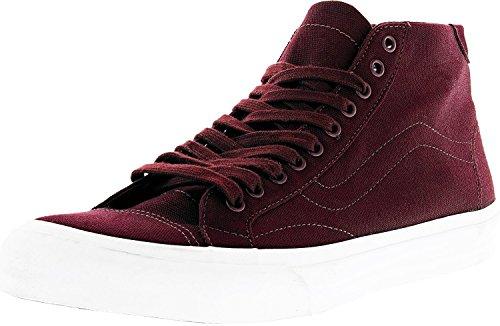 - Vans Men's Court Mid Canvas Port Royale Ankle-High Skateboarding Shoe - 11.5M