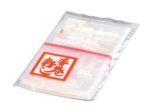 セイニチ スリットパック 手巻寿司 カラーライン入赤 210×120×0.04mm 6000枚 B0095B4UWE