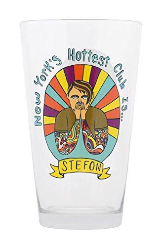 Saturday Night Live Stefon Pint Glass, 16-Ounce