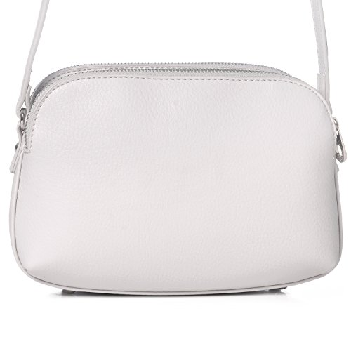 Messenger Zipper Handbag Fashion Jones Basic David Shoulder Pockets Ladies Travel Women's Wallet Crossbody Leather Black Faux Bag Purse White Saddle Medium Multi OSfX6fnU