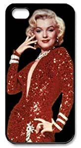icasepersonalized Personalized Protective Case For Ipod Touch 4 Cover - Actress Monroe
