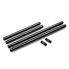 This is a marketing mix. Pair of 15mm rods-8 inches/20cm long; Pair of 15mm rods-12inches/30cm long; Includes: 2pcs M12-20cm rods 2pcs M12-30cm rods 2pcs Rod connectors Material: Aluminum Alloy Weight: 230g