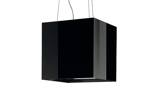 Best cube inselhaube dunstabzugshaube schwarz inselesse cm