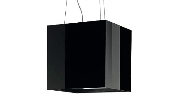 Best cube inselhaube dunstabzugshaube schwarz inselesse 40cm