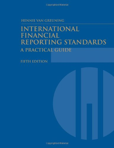International Financial Reporting Standards: A Practical Guide (World Bank Training Series) by Brand: world bank publications