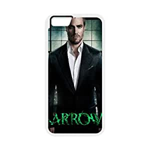 Arrow Movie iPhone 6 Plus 5.5 Inch Cell Phone Case White yyfabc-621872