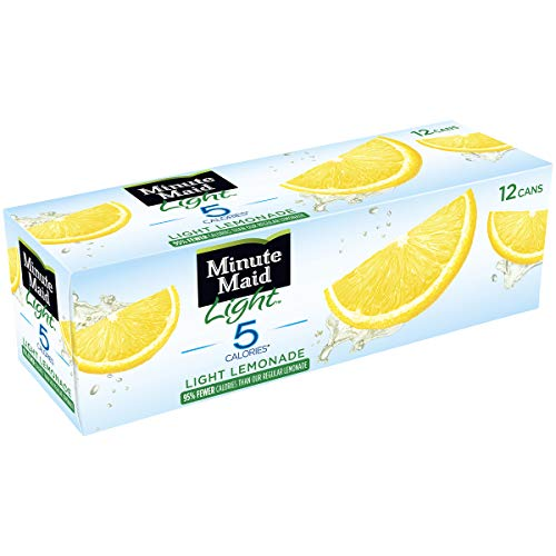 (Minute Maid Light Lemonade Fruit Drink, 12 fl oz, 12 Pack)