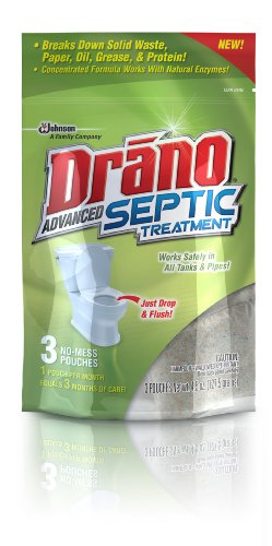 Price comparison product image Drano Advanced Septic Treatment, 3 Count