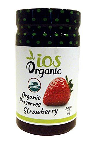 IOS Organic Strawberry Preserves, 13 oz - Organic Strawberry Preserves