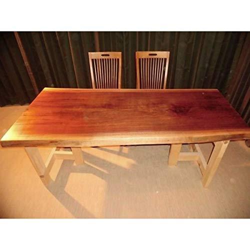 E-027 ◆ ウォールナット ブラックウォールナット テーブル ローテーブル ダイニング ダイニグテーブル 座卓 天板 無垢一枚板 B07NQMKFK7