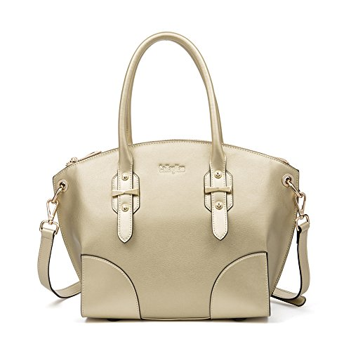 Leather Bag Top Shoulder Sale Champagne Bag Handle Purse 2 Hobo Ladies Gold Women's Designer Handbag Clearance Tote qAPOEP
