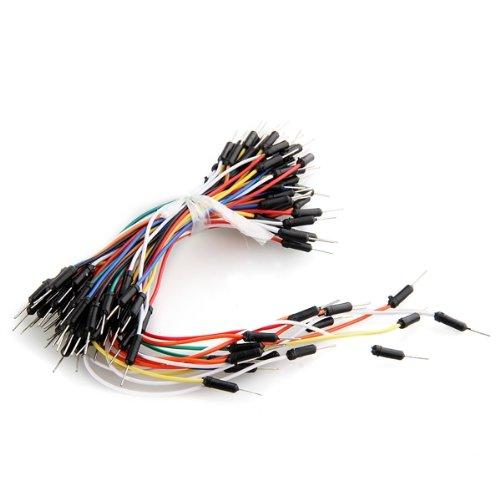 65 piezas placa sin Cable cables de puente Flexible para Arduino TOOGOO(R) 321
