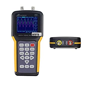 Menú en inglés Dispositivos de osciloscopio 20MHZ 1 Canales Osciloscopio digital multicanal Osciloscopio portátil de dos canales: Amazon.es: Industria, ...